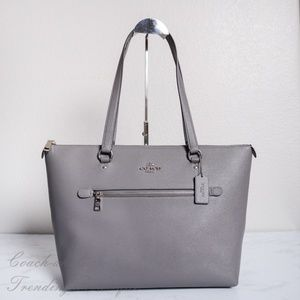 NWT Coach Gallery Tote in in Crossgrain Leather